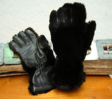 Fur Vintage Gloves