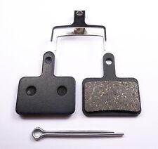 1 pair of Organic Resin Brake Pads for Shimano Deore - B01S B01 INCL SPLIT PIN