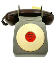 RARE MILITARY ROTARY DIAL TELEPHONE ONLY EMERGENCY ARMY PHONE OLD VINTAGE RADIO