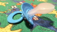 ADULT SILICONE   ( NEW YEARS SALE  )   ALL BLUE NUK 6 PACIFIER for big baby