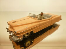 DINKY TOYS 131 CADILLAC ELDORADO CONVERTIBLE - SALMON PINK 1:43 - GOOD CONDITION