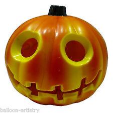 "3"" Luz-Up Plástico Halloween Jack-o' - Lantern Calabaza Decoración"