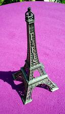 Large Metal Paris Eiffel Tower Souvenir 29 cm