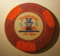 """Tropicana $5 Casino Chip Las Vegas Nevada 2nd Issue """"Combined Shipping"""" #17C-113"""