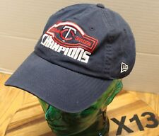 YOUTH MINNESOTA TWINS CENTRAL DIVISION CHAMPIONS HAT BLUE STRAPBACK VGC X13