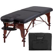 "Portable Massage Table Height Adjustable Reiki Table 2 Fold 73"" L 28"" W"