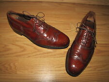 Vintage Florsheim Brown Dress Wingtip - Oxfords - 8D  Euro. 41