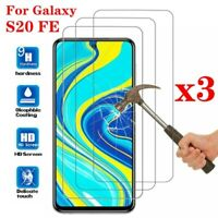 For Samsung Galaxy S20 FE 5G 9H Premium Tempered Glass Screen Protector Film ❄☃