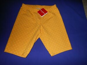 Hanna Andersson (EUC 150) Biker Shorts-New With Tags-Dark Yellow