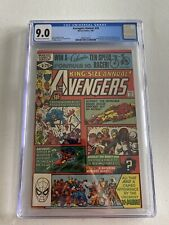 AVENGERS ANNUAL #10 CGC 9.0 1st ROGUE and Madelyn Pryor X-MEN 1981