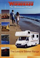 Prospekt 2002 Winnebago Leisure Seeker Range brochure motorhomes Reisemobile