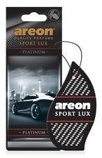 12x PLATINUM Areon SPORT LUX Quality Perfume Car Air Freshener Long Lasting TOP