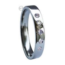 Anillos de joyería con diamantes alianzas diamante SI1
