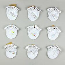 Unisex Newborn Baby Mitten Mits from Organic Cotton - Super Soft & Anti-scratch
