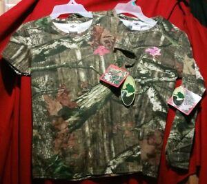 Mossy Oak Break-Up Infinity Long & Short Sleeve Camo T-Shirt Sz S M L XL 2XL NWT