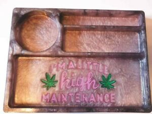 Bespoke, customised resin rolling trays - Smoking, Gift - Different designs