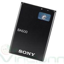Batteria originale Sony 1290mAh 4,8Wh BA600 per Xperia U ST25i confezione bulk