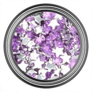 Light Purple Star Rhinestone Gems Flat Back Face Art Nail Art Jewels Decoration