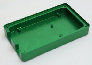 Custom Made CNC Machined Aluminium Green Anodised Arduino Mega Compatible Case