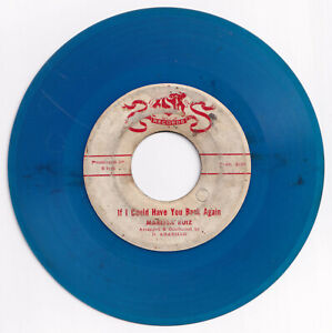 Phil MARISSA RUIZ If I Could Have You Back Again OPM 45 rpm BLUE VINYL Record