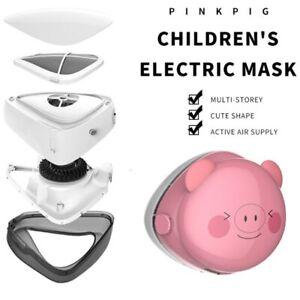 Children's Smart Portable Electric Rechargeable Air Purifier Anti-fog Dust-proof