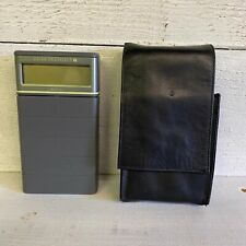 Rare Vintage 1986 PSION Organiser II Model XP With Leather Carry Case
