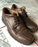 Men's Dockers Brown Dress Shoes Pro- Style, Shoes All Motion Comfort Size 9 M