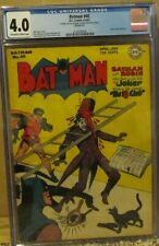 BATMAN #40 CGC 4.0 1947 GOLDEN AGE JOKER Cover and STORY! ROBIN!