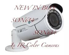 1x ClearView BL-74 CCTV 700TVL 2.7-12mm CCD OSD IR Bullet Security Color Camera
