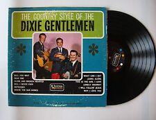 Dixie Gentlemen The Country Style Of The Dixie Gentlemen US LP 1963 Bluegrass