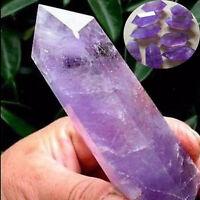 5-7cm Natural Purple Amethyst Quartz Crystal Point Terminated Wand Healing New