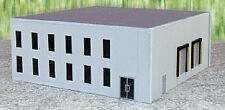 HO 1/87 Promotex # 6325  Modern Office Tilt-up Building Kit - Gray