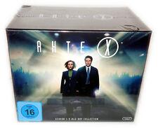 Akte X - Staffel/Season 1,2,3,4,5,6,7,8,9[Blu-Ray] Collection Deutsch(e) Version