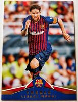 2018-19 PANINI TREBLE SOCCER * LIONEL MESSI! BARCELONA! HARD TO FIND! CLEAN SP!