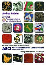 Catalogo dei distintivi scout ASCI 1949-1966 italian badges