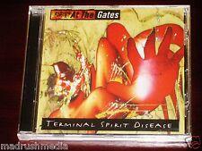 At The Gates: Terminal Spirit Disease CD 2003 Bonus Tracks Peaceville Recs NEW