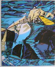 JAVIER MARISCAL  - Carton d invitation - 1994