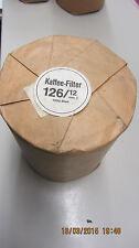 1000 Kaffeerundfilter Kaffeefilter Rundfilter 126/12mm für WMF 5000, Filtromat