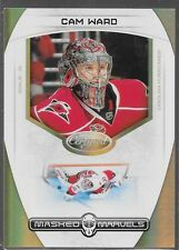 11/12 Certified Masked Marvels Mirror Gold Cam Ward /25 4 Hurricanes