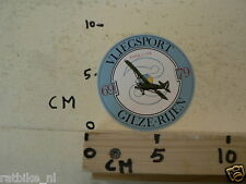 STICKER,DECAL GILZE-RIJEN VLIEGSPORT PIPER L-12B
