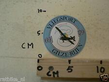 STICKER,DECAL GILZE-RIJEN VLIEGSPORT PIPER L-12B