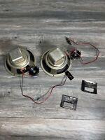"""Vintage Sansui SP-50 2 Way Speaker 8 ohm 25w 8"""" Woofer & tweeter 10w replace"""