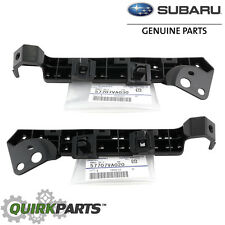 OEM 2015-2018 Subaru WRX STi Front LEFT & RIGHT Bumper Retaining Bracket Set NEW