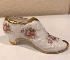Paragon Victoriana Rose Fine Bone China Shoe England To Her Magesty the Queen EC