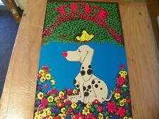 "Vintage Poster ""Love is a Many Splendor Thing"" Pop Art Silkscreen NOS 21x33"