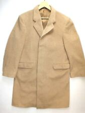 "WOMEN'S VINTAGE ROMEO Cappotto di Cashmere Lana Taglia 38"" Beige URBAN MADE IN GERMANY"