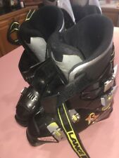lange xp6 black ski boots 7 1/2