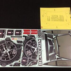 58456 Tamiya Lamborghini LP-560-4 Super Trofeo Decal Set TT01/TT02/TA05/TRF/419