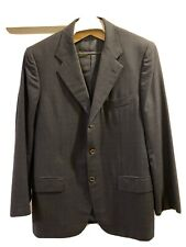 Kiton Mens R Diamante Blu Super 150s Wool Suit Jacket And Pants Size 52 R