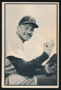 #48 STEVE RIDZIK 1953 Bowman Baseball Black White PHILADELPHIA PHILLIES